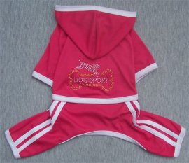 Dogsport overall rosa