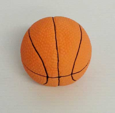 Basketboll i latex